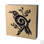 0753 Laser Cut Bamboo Art Block - Tui