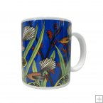 Ceramic Mug, Jo May, Fantail