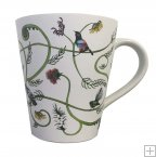 GM64,Ceramic Mug - Birds & NZ Flora