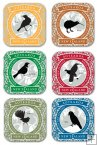 C14 - New Zealand Birds Coasters