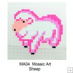 MA04 - Mosaic Art - Sheep