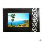 GPF02 - Glass Bent Photoframe - Maori Design