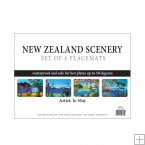 Set of 4 Placemats, Jo May, Scenery