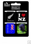 BM24 Magnetic Bookmark NZ Icons