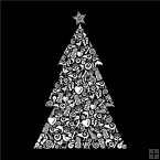 LED Canvas - Icons Christmas Tree