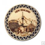 Wooden Coasters - New Zealand Scenery