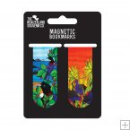 Set of 2 Magnetic Bookmarks, Jo May, NZ Natives