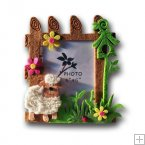 0733 - Sheep Picture Frame